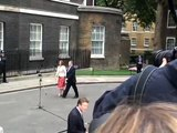 Prime Minister Gordon Brown arrives at Downing Street