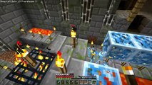 Minecraft - Silverfish Spawner New Portal Crystal Blocks Air Portal