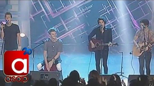 Worldwide teen phenomenon and British pop band 'The Vamps' on ASAP20