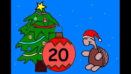 Mon calendrier de l'avent en ligne. J'attends Noël.  20 décembre