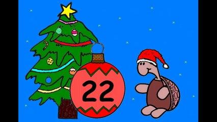 Mon calendrier de l'avent en ligne. J'attends Noël.  22 décembre