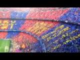 INSIDE CAMP NOU (FC Barcelona - Bayern): Mosaic We are ready