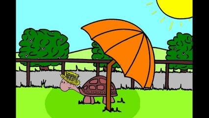 J'apprends les contraires avec Fanny la tortue.
