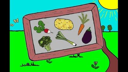J'apprends les légumes (1/2)