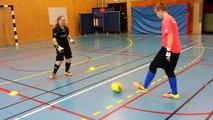 Futsal - Falcao Futsal Club:P00 - Goalkeeper training 1