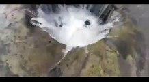 Oregon's Lost Lake disappearing through lava tube