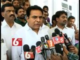 T-Irrigation Minister KTR talks about Irrigation Projects and Farmers Suicides in Telangana - 6 TV