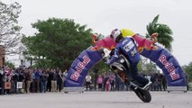 Sport Bike Stunt Riding in Santa Cruz - Aaron Colton 2013 Bolivia