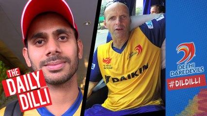 Kolkata #DilliBoy Tiwary says 'Crucial match for the team and myself'  |  THE DAILY DILLI 39 #DILDILLI