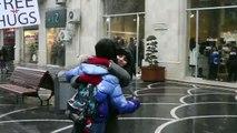 FREE HUGS 2012 Flashmob in Baku   FLASHMOB Azerbaijan