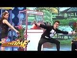 Vhong shows off his astig jump rope moves