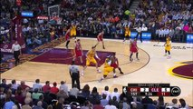 LeBron James Hook Shot _ Bulls vs Cavaliers _ Game 2 _ May 6, 2015 _ NBA Playoffs