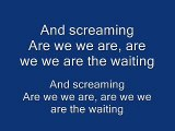 Green Day - Are We The Waiting (Lyrics on Screen)