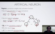 Neural networks [1.1] : Feedforward neural network - artificial neuron