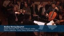 Britten - String Quartet No. 2 in C major for Strings, Op. 36, Mvt.1 - Escher String Quartet - CMS