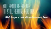 Sia - Elastic Heart (Lyric Video) Feat. The Weeknd & Diplo