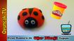Play Doh Oyun Hamuru ile Uğur Böceği Yapımı