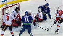 NHL 2014-15 Conference 1-4 Final G2 - Vancouver Canucks vs Calgary Flames - 2015.04.17 Highlights