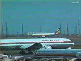Classic Airliners - Japan Airlines B767-300 - Tokyo International Airport 1989