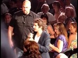 Josh Groban singing ``To Where You Are`` with audience member Maude   Montréal, July 23th, 2011