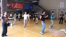 Mi Rowsu(demo by Ingrind Kan & students) -Kan's line dance from Taiwan
