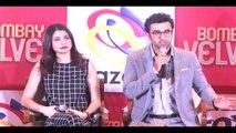 Anushka-Ranbir Talks About Their Kissing Scenes In Bombay Velvet, Watch Video!