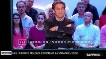 """Patrick Pelloux tacle Emmanuel Todd après son livre sur Charlie Hebdo : """"On se sent insultés !"""""""