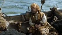 Game Of Thrones s05e04 Jorah Mormont slaps Tyrion Lannister