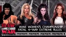 WWE 13 WWE Women's Fatal 4 Way Extreme Rules Championship Match