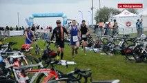 Saint-Brieuc. 240 concurrents au deuxième triathlon de la Baie