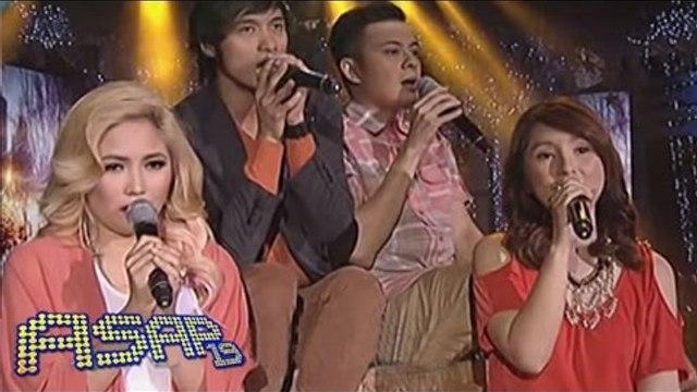 Yeng, Paolo, Princess & Kean sing 'Miss Kita Kung Christmas' on ASAP