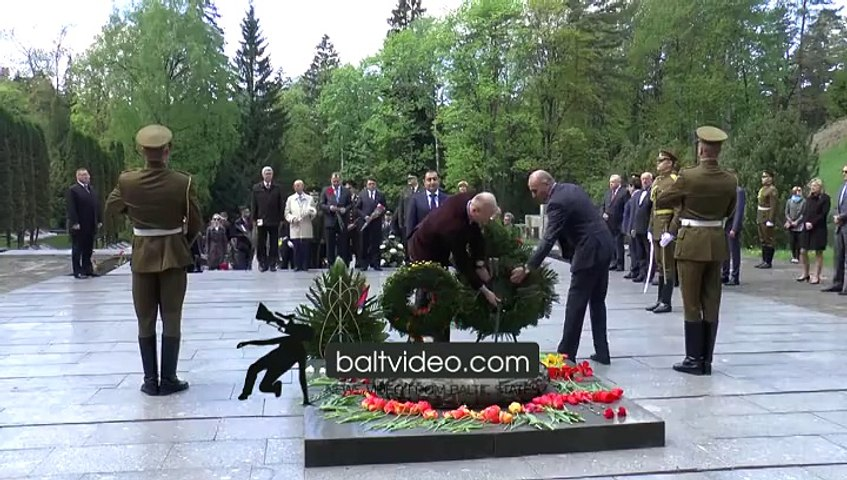 remeberance of the Second World war victims held in Vilnius