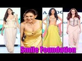 Many Hot Celebs Walk On Ramp For Smile Foundation Cause