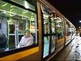 LUAS Dublin trams - Alstom Citadis Straßenbahn - Villamos