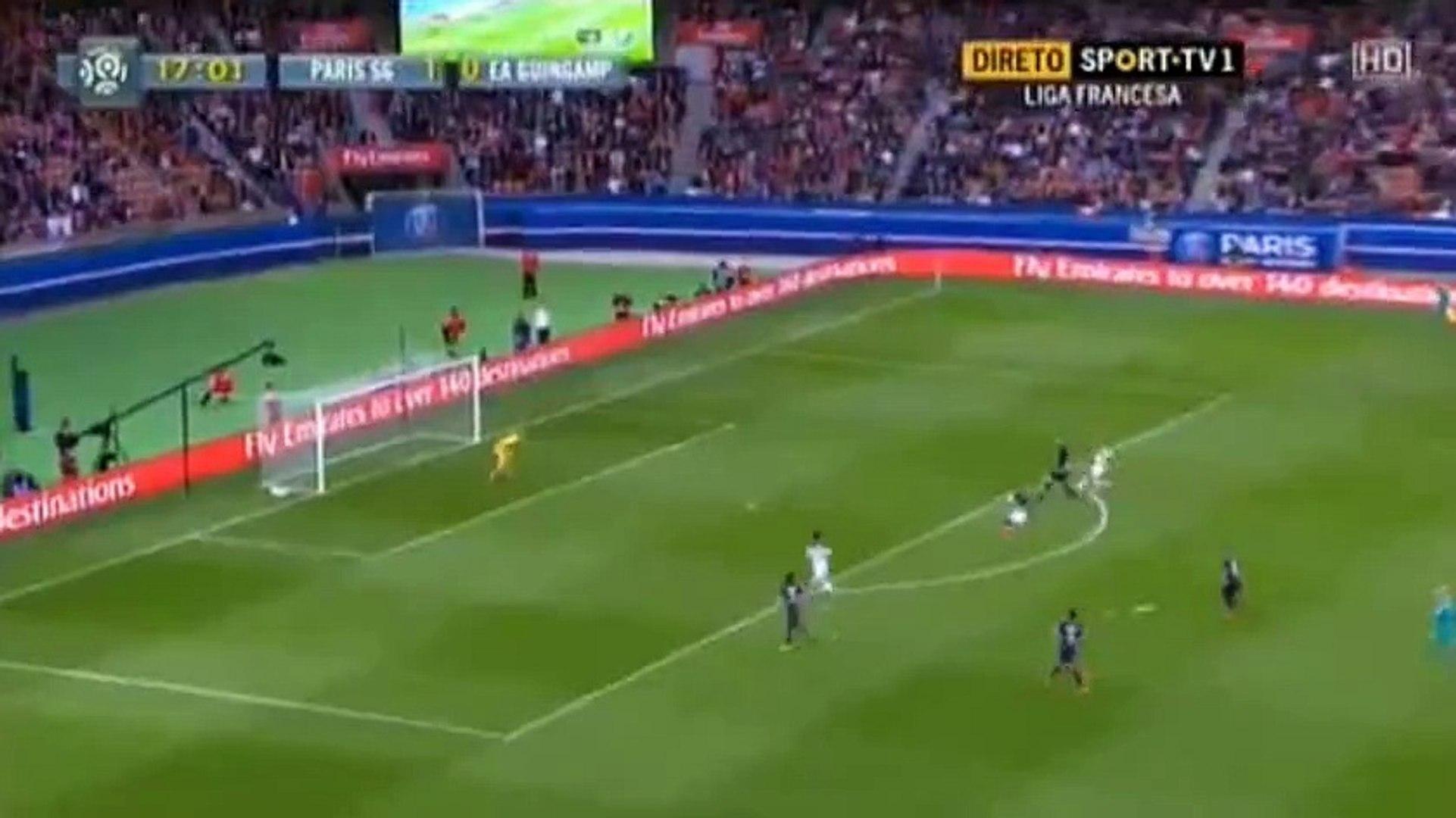 Zlatan Ibrahimovic Goal PSG 2-0 Guingamp | Ligue1 2015