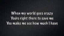 My Best Friend~Tim McGraw Lyrics