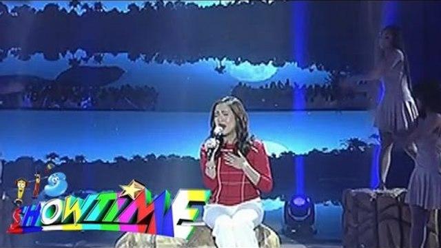 """Jolina Magdangal sings """"Miss Kita Pag Christmas/Laging Tapat"""" on Showtime"""