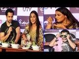 Sexy Hot Desi Bhabhi Vidya Balan Promoting Her Film ''GHANCHAKKAR'' With Emraan Hashmi