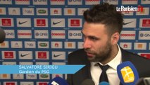 PSG, Sirigu : «Il y a encore du boulot à faire avant d'être champion»