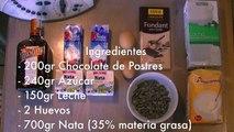 Helado casero de chocolate con Thermomix y heladera - Recetas de postres