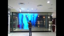 Traxon LED Panel Interactive Wall - Hong Kong Coliseum 2009