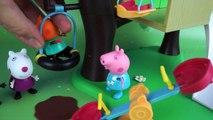 Свинка Пеппа развивающий мультик на русском языке. Домик на дереве или ценность дружбы Peppa Pig