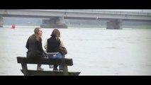 Overstroming waal thv waalkade Nijmegen 11-01-2011