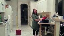 Pregnant Lady Twerks til her water breaks TOO FUNNY @redcowhills