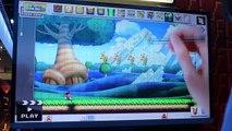 Mario Maker - MY CRAZY LEVEL!! (LIVE Wii U Gameplay E3 2014)
