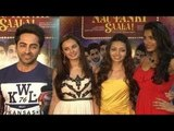Ayushmann, Kunaal Roy Kapur, Pooja Salvi & Evelyn Sharma @Success Party Of Film 'Nautanki Saala'