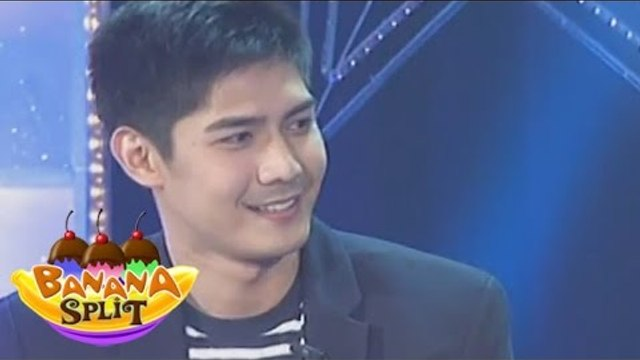 Robi Domingo raps with Tito Bhoy on Banana Split