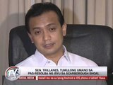 Trillanes says PNoy told him to 'backchannel' with China