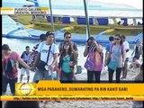 Thousands flock to Batangas port for long break