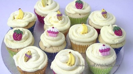 LEMON CUPCAKE *COOK WITH FAIZA*